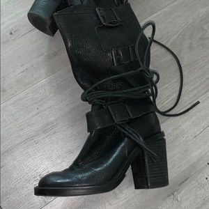 Vince camuto genuine leather boots